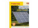 AllEarth - Solar Tracker Technical Specifications Brochure