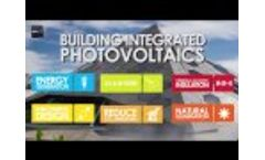 What is Onyx Solar? Building Integrated Photovoltaics - Video