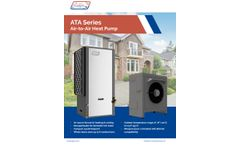 Nordic - Model ATA Series - Outdoor Portion Air-to-Air Nordic Heat Pumps - Brochure