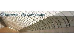 Milestones Grain Fabric Buildings - Flat Grain Storage
