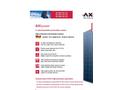 AXITEC - Model AC-290P-300P/156-72S - Photovoltaic Module Brochure