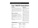 LORD Fusor - Model 2200/2201 - Sealer/Adhesive Datasheet