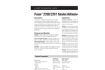 LORD Fusor - Model 2200/2201 - Sealer/Adhesive Datasheet