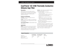 CoolTherm - Model SC-1200 - Thermally Conductive Silicone Gap Filler - Datasheet
