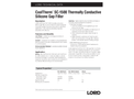 CoolTherm - Model SC-1500 - Thermally Conductive Silicone Gap Filler - Datasheet