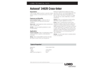 LORD Autoseal - Model 3462B - Cross-Linker Used With Autoseal Aqueous Coatings - Datasheet