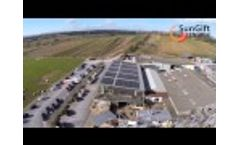 How farm shop generates 1/3 of its energy needs onsite Video