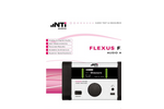 Flexus - FX100 - Analog & Digital Audio Analyzer - Leaflet