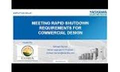 Rapid Shutdown Requirements Webinar Michael Nieman Video