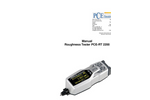 PCE-RT 2200 Roughness Tester - Manual