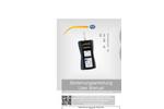 PCE-DFG N 500 Dynamometer - Manual