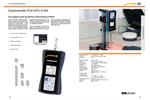 PCE-DFG N 500 Dynamometer - Data Sheet