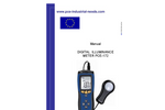 PCE - 172 - Lux Meter Accurate Device for the Industrial Sector – Manual