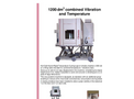 1200 Combined Vibration and Temperature Tests Brochure