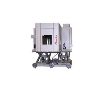 Model ViBt Type - Vibration and Temperature Chamber on Lifting Table
