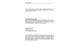 Risk Assesment Brochure