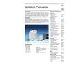 Model AD-TW 41 GM ; AD-TW 41 ST - Isolation Converter Brochure