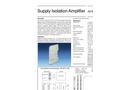 Model AD-STV 2 GX - Isolation Amplifier Brochure