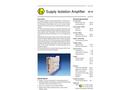 Model AD-STVEX 710 GVD - Isolation Amplifier Brochure