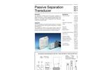 Model AD-TW 41 GM - Passive Separation Transducer - Brochure
