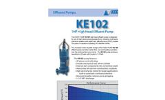 Model KE102 - 1HP High Head Effluent Pump- Brochure