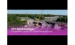 Delivery and Installation of the Bridge Carrier BAB A43 Video