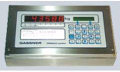 Model DMA02 Junior - Weighing Terminal
