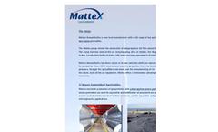 Mattex Geosynthetics - The Range Brochure