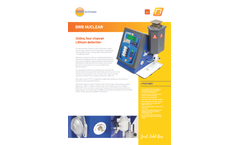 BWB - Online Four Channel Lithium Detection Nuclear Flame Photometer Brochure