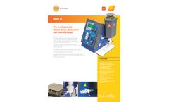 BWB - Model LI - Lithium Flame Photometer Brochure