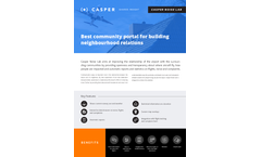 Casper - Noise Lab Software - Brochure
