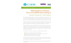 Rethinking Reuse Conference 2014 - Brochure