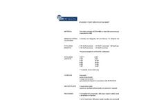 CMC - T-Posts - Metal for Standard Studded Silt Fence - Datasheet