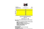 Tough Guy - Model Type 1.DOT - Floating Turbidty Barriers - Datasheet