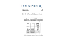 LM 150 lb - Specification Sheet
