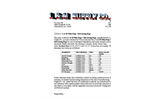 Filter Bags / Dewatering Bag - Data Sheet