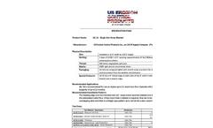 US-1S - Single Net Straw Blanket - Specifications