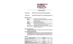 US-1SRD - Double Net Straw Blanket - Specifications