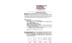US-2X Double Net Excelsior - MSDS