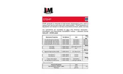 L & M - Model 570HP - High-Performance / High Strength Geotextiles - Datasheet