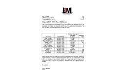 L & M LM315 315 lb Woven Geotextile Fabrics - Brochure