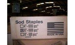 L & M - Sod Staples