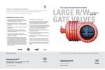 24`-54` Resilient Wedge Gate Valve Brochure