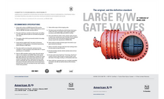 24`-54` Resilient Wedge Gate Valve Brochure