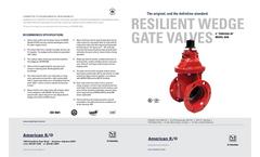 4`-20` Resilient Wedge Gate Valve Brochure