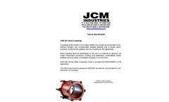 JCM - 201 - Steel Coupling - Typical Specification
