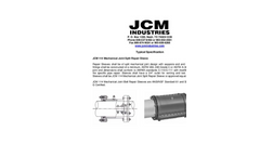 JCM - 114 - Mechanical Joint Repair Sleeve - Typical Specification