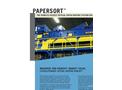 PaperSort - Optical Paper Sorting System Brochure