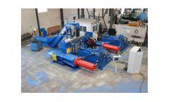 Hidroeuropa - Model JBV-600 - Briquetting Plant