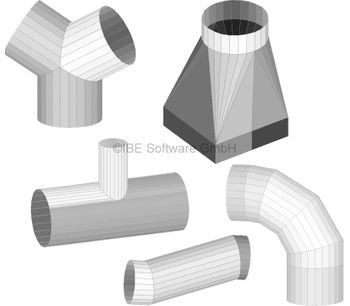 Sheet Metal Nets Module for Air Conditioning and Ventilation Systems-1